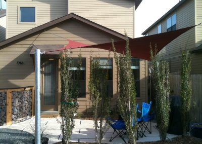 Patio with Sunsail