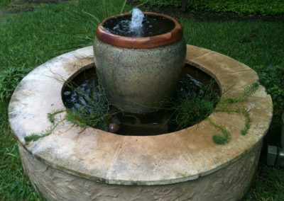 Raised Fountain