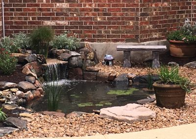 Small Pond and Waterfall